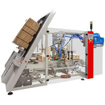 Wraparound Kartonpacker / seitlich / automatisch / Hotmelt-Klebstoff