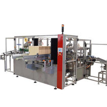 Vertikaler Bottom-Load Kartonpacker / automatisch / kompakt