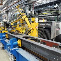 Schweiß-Roboterzelle / MIG/MAG-Schweißen / für Produktion