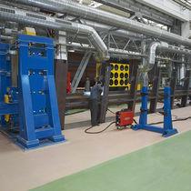 Elektromechanischer Schweißpositionierer / drehbar / 1-2 Achsen