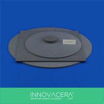 Plattenförmige Keramik