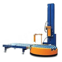 automatischer Drehteller-Stretchwickler 40 - 60 p/h | T1800FZ-PL Dajiang Machinery Equipment Co.,LTD