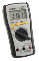 Digitalmultimeter true RMS AVO410  Megger Limited