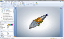 Visualisierungssoftware: Kollaborativer 3D-Viewer 3DVIA Composer Player  SOLIDWORKS