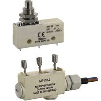 wasserdichter Schnappschalter IP 67 | MP110 series Microprecision Electronics