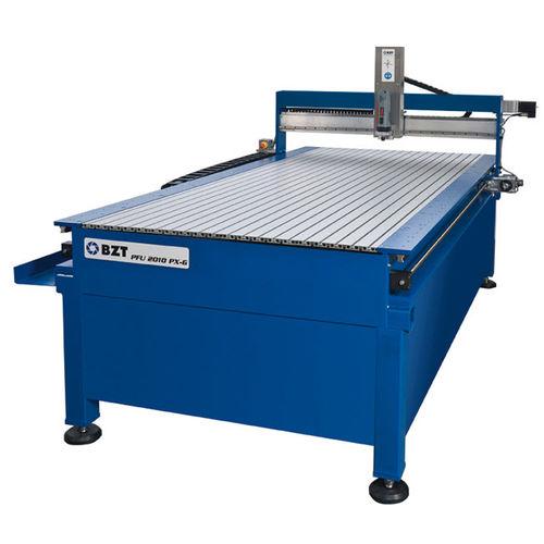 CNC-Fräsmaschine / 3-Achsen / universell / für Aluminium / Brücken PFU 2515-G BZT Maschinenbau GmbH
