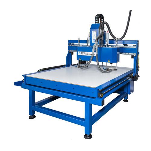 CNC-Fräsmaschine / 3-Achsen / universell / für Aluminium / Brücken BZT Maschinenbau GmbH