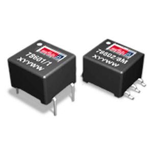 Impulstransformator / verkapselt / für Leiterplatte / einphasig