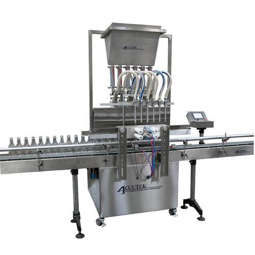 Abfüllanlage für Industrieanwendungen / kosmetische Cremes / Flüssigkeit / Multicontainer