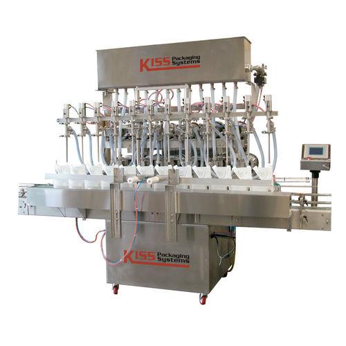 Abfüllanlage für Industrieanwendungen / für viskose Produkte / Flüssigkeit / Multicontainer