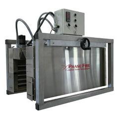elektrischer Schrumpftunnel / mit Infrarot-Strahlungsheizungen