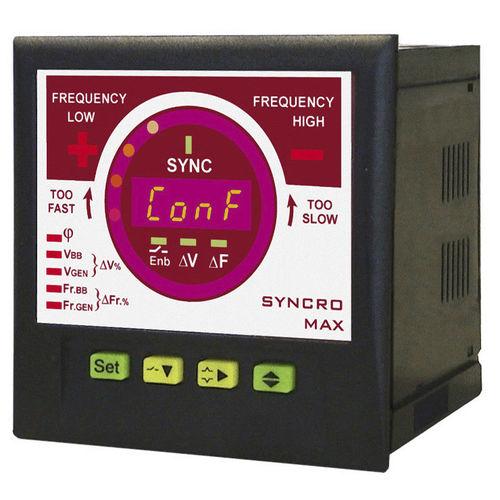 Frequenzüberwachungsrelais / Synchronisation / für Schalttafelmontage / programmierbar