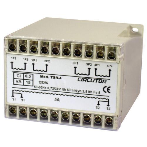 Messungs-Transformator / Strom / Summen / für DIN-Schienen