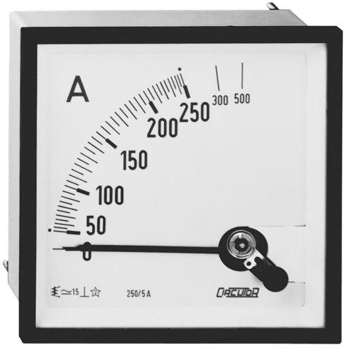 AC-Amperemeter / Analog / plattenmontiert