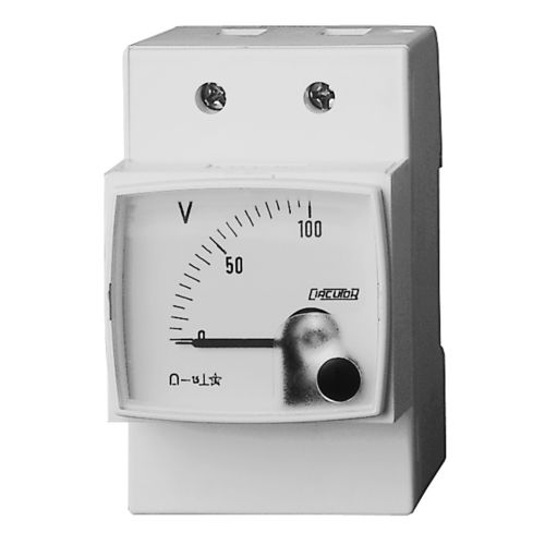 analoges Multimeter / für Schalttafeleinbau / 100 A / AC/DC
