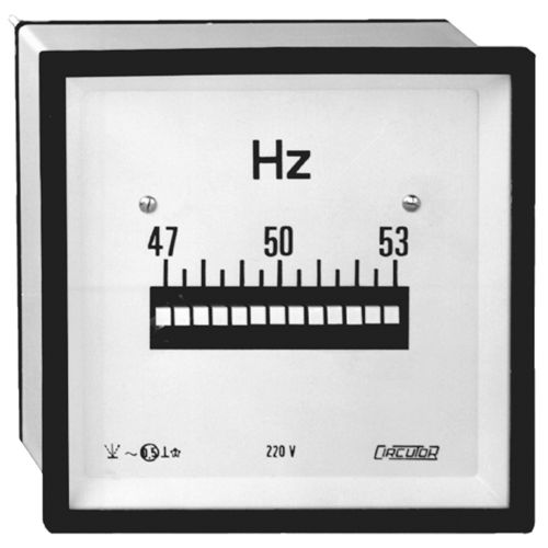 analoger Frequenzmesser