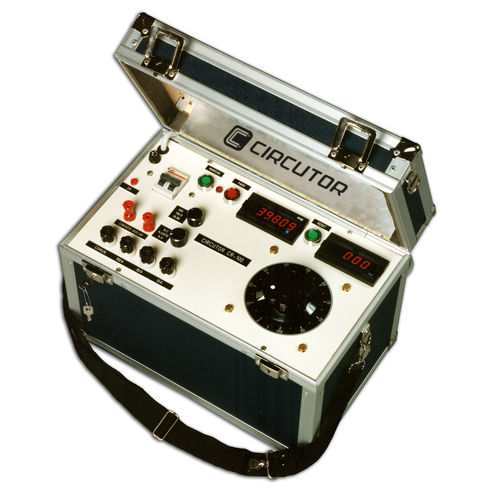 Stromprüfgerät / für Schutzrelais / automatisch / mobil