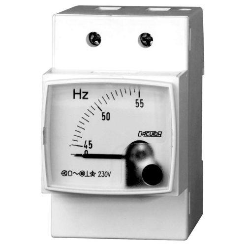 analoger Frequenzmesser / DIN-Schienen