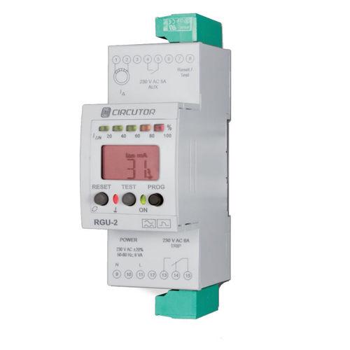 Ableitstrom-Überwachungsrelay / programmierbar / DIN-Schienen / Verzögertes Zeit