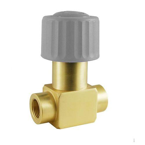 Balg-Magnetventil / direktgesteuert / 2/2-Wege / für Gas