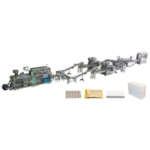 Verpackungsanlage für Gebäck / Blister Jornen Machinery Co., Ltd.