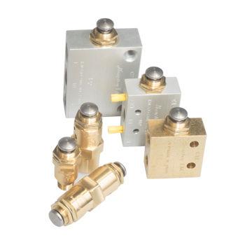 Ringkolbenventil / manuell / pneumatisch / Steuerung