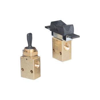 pneumatisch gesteuertes Ventil / Ringkolben / Hebel / Servosteuer