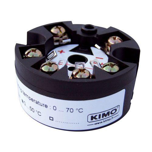 Temperaturmessumformer / am Sondenkopf / Thermoelement / 4-20 mA / Prozess