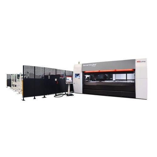 Faserlaser-Schneidmaschine - TCI CUTTING