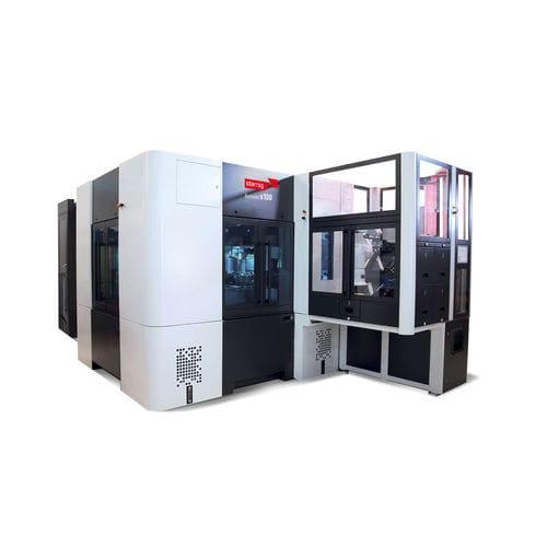 Lineare Transfermaschine / NC / 4-Positionen / für hohe Geschwindigkeiten Bumotec s100 multi Starrag