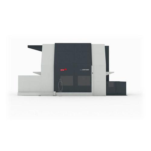 CNC-Drehmaschine / vertikal / 3-Achsen / hart Dörries Contumat - VC  Starrag