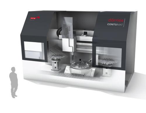 CNC-Drehmaschine / vertikal / 3-Achs / hart