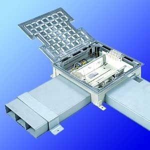 Kabelkanal / Aluminium / Unterflur