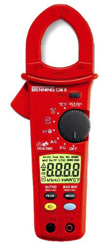 digitales Stromzangen-Multimeter / tragbar / 600 V / Leistungsmessung