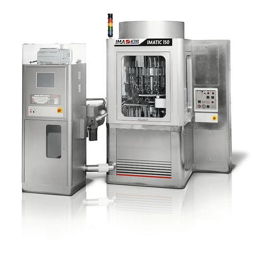 Abfüllanlage für Industrieanwendungen / für Pulver / Kapsel / Kapsel