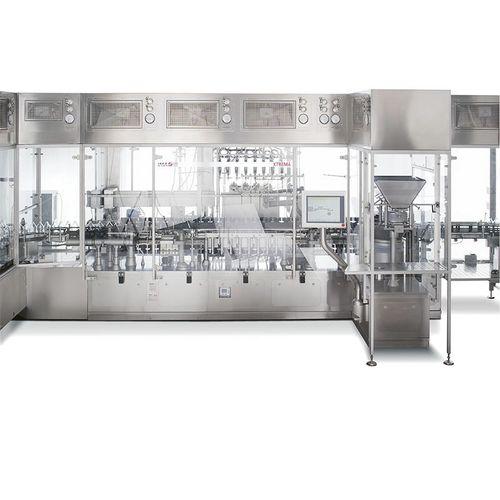 Füll und Schraubverschlussanlage / für Flüssigkeiten / für Pharmaprodukte