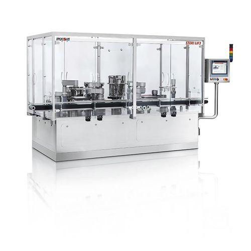 automatische Füll- und Verschließmaschine / Linear