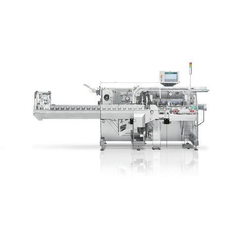 horizontaler Kartonierer / Toplader / für die medizinische Industrie / automatisch