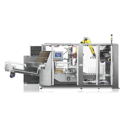 Kartonpacker Palettierer / Roboter / automatisch / Kisten / kompakt