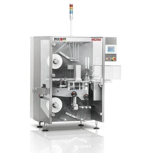 Schrumpffolienverpackungsmaschine für Schrumpffolienverpackung / hohe Drehzahl / servogesteuert