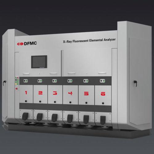 Röntgenfluoreszenzanalysator / Array / Elementar / automatisch