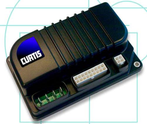 Drehzahlregler für Permanentmagnet-Gleichstrommotor 24 VDC, 45 - 70 A | 1210 Curtis Instruments