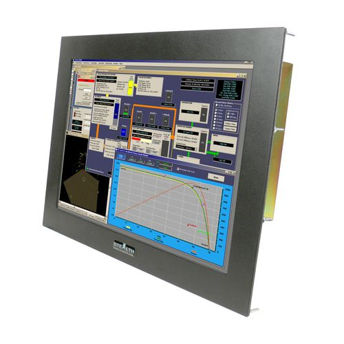 LCD-Monitor / Touchscreen / 12