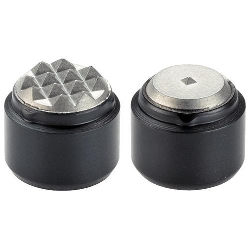 Einsatz / Rollen Zackenlaschen / Stahl / Hartmetall / rund