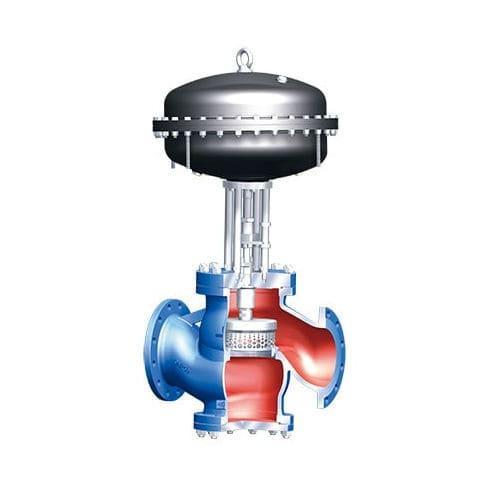 Steuerventil / Küken / elektrisch betätigt / pneumatisch gesteuert
