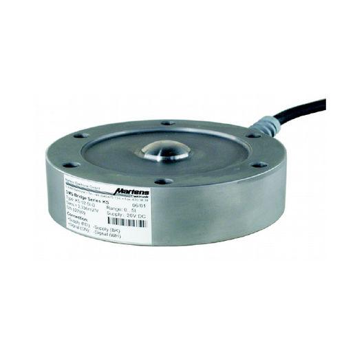 Knopf-Wägezelle / Stahl / für Tanks / zum Wiegen