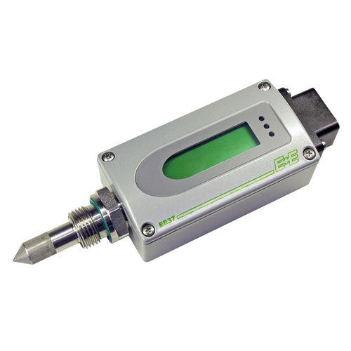 Taupunkttransmitter zum Einschrauben / für reine Gase / Dünnschicht