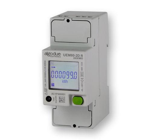 einphasiger Elektrischer Energiezähler - Algodue Elettronica