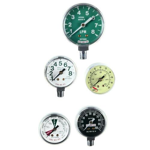 analoges Manometer / Rohrfeder / für medizinische Arbeiten / OEM