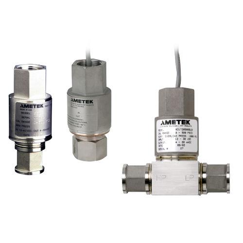 Differenzdruckmessumformer / analog / Edelstahl / festeingestellt